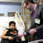 Nintendo 3DS for hospital patient