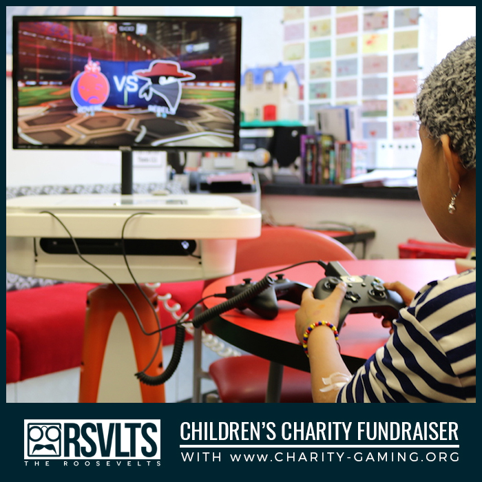 Charity Gaming RSVLTS CharityFundraiser