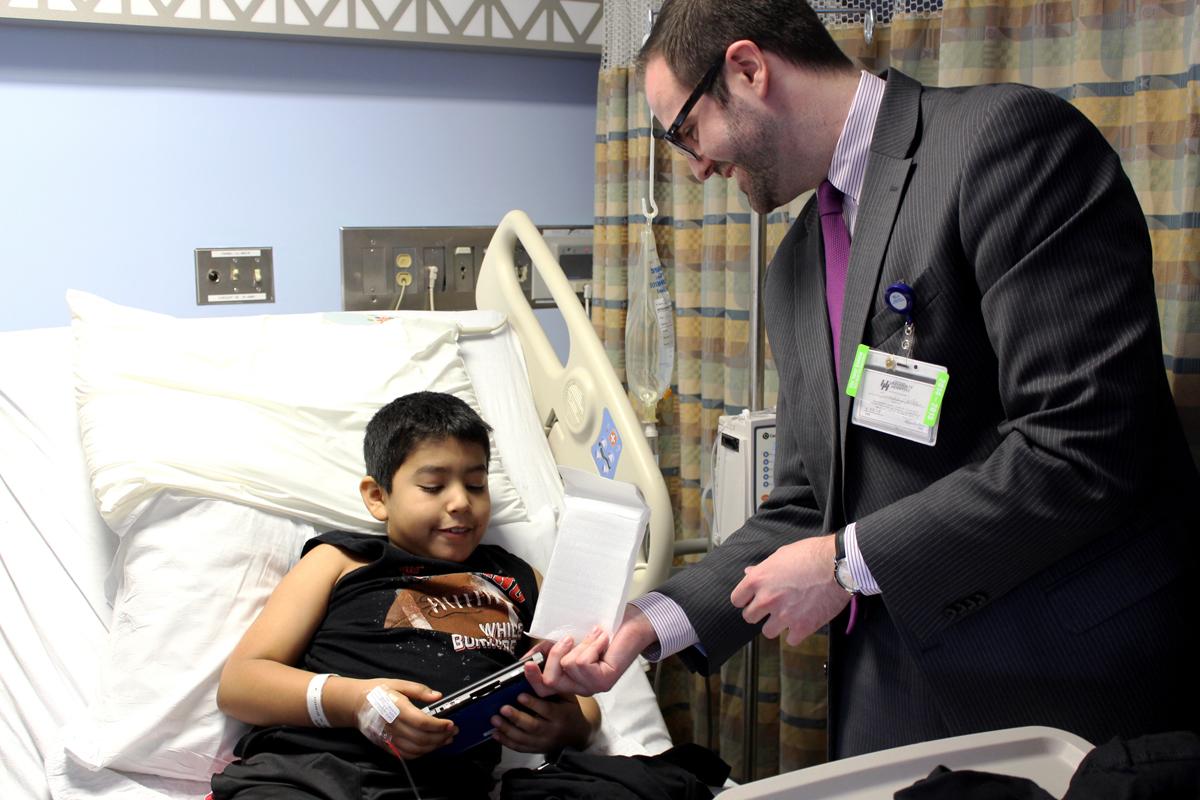 Nintendo 3DS for hospital patient